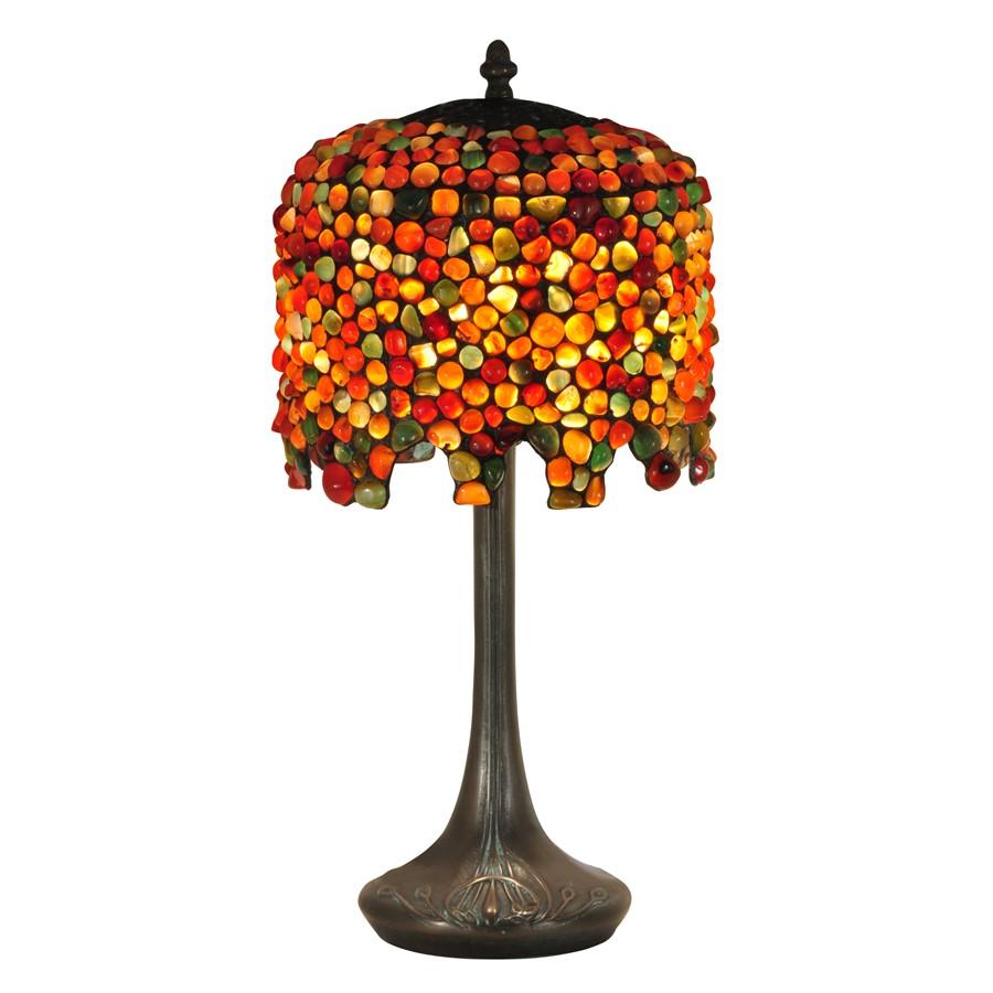 Dale Tiffany Pebblestone Wisteria Table Lamp, Antique ...