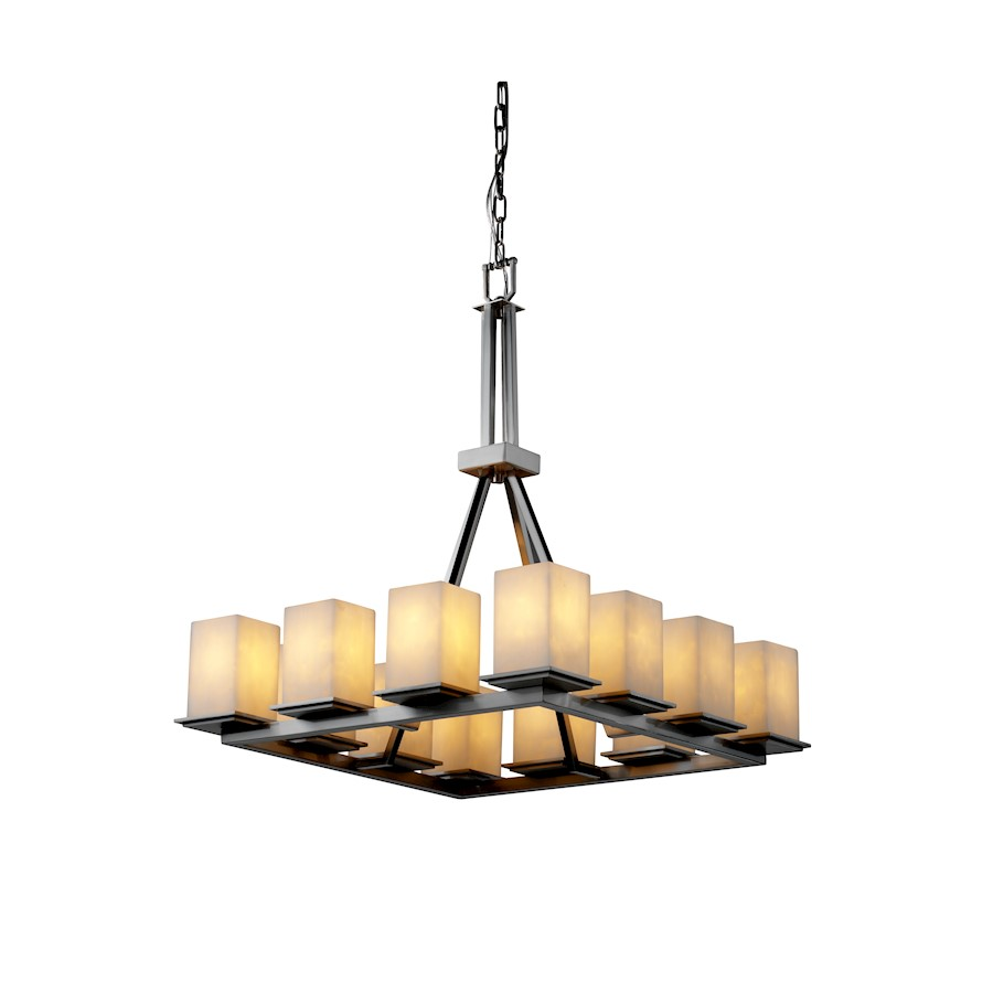 Justice Design Cld-8663-15-nckl Clouds Montana Candle Chandelier ...