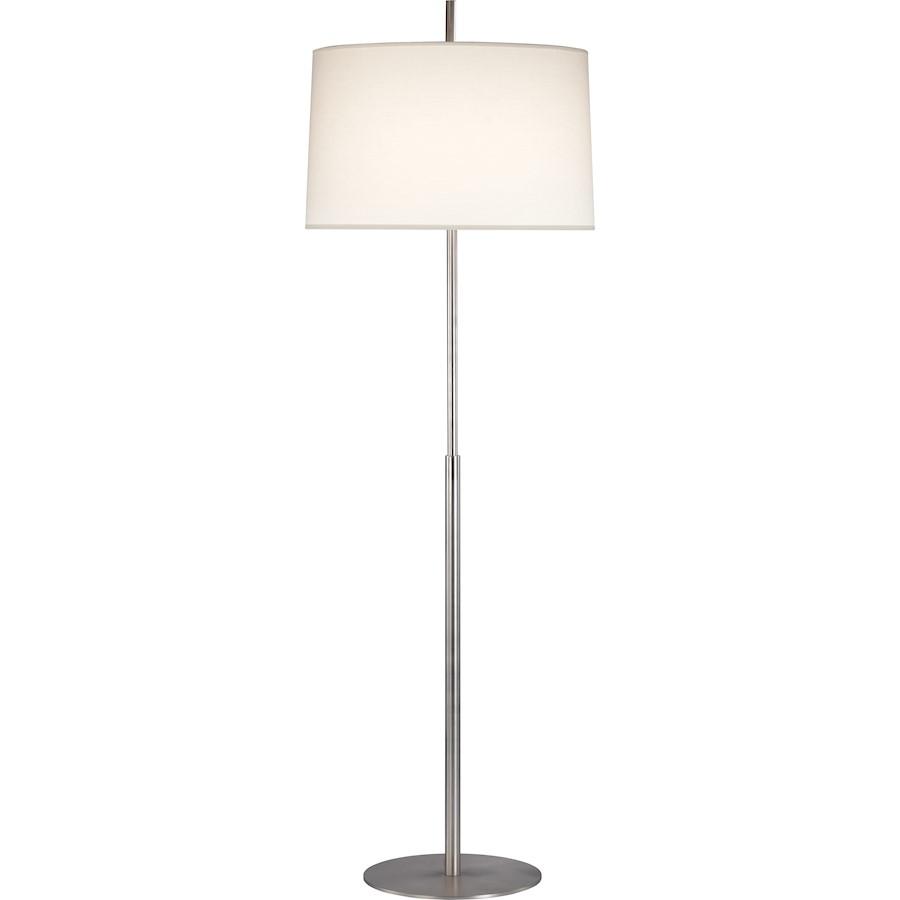 Robert Abbey Echo 1 Light Floor Lamp, Stainless Steel ...