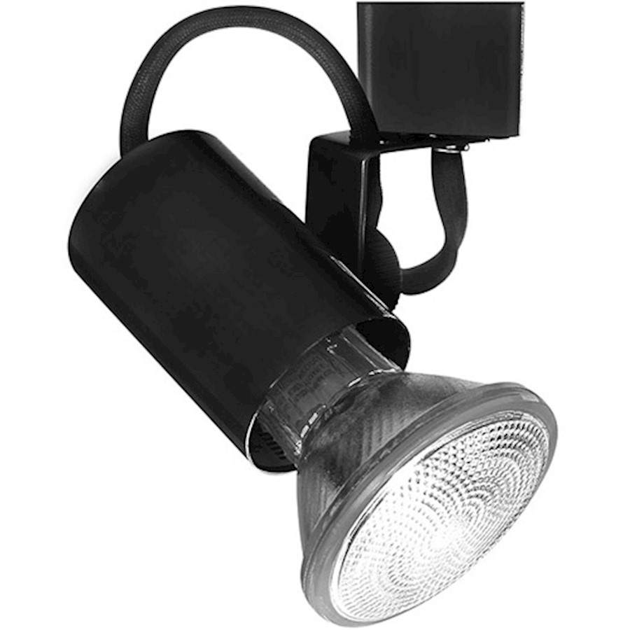 WAC Lighting TK-178 Line Voltage Track Fixture for J Track, Black - JTK-178-BK